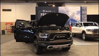 2019 RAM Rebel & Long Horn Quick Walkaround - 2018 Houston Auto Show
