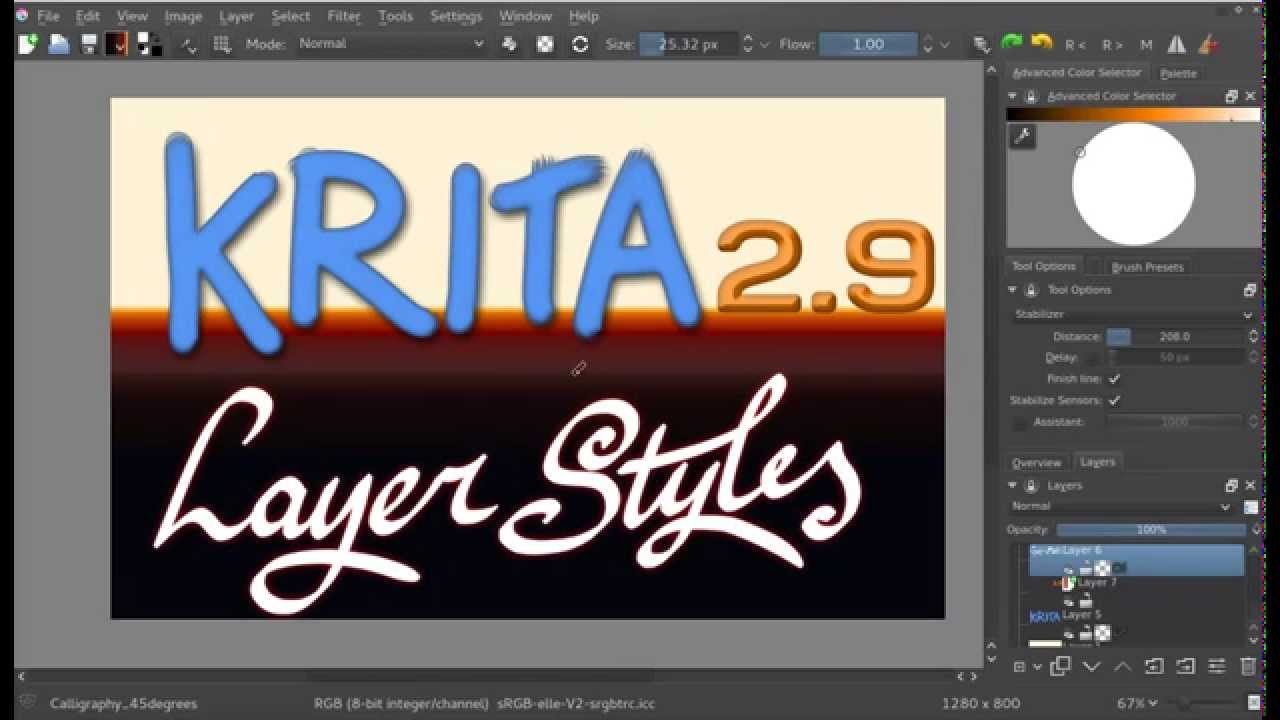 """The dialog about the """"unidentified developer"""" Krita 2 9 4 Released Krita"""