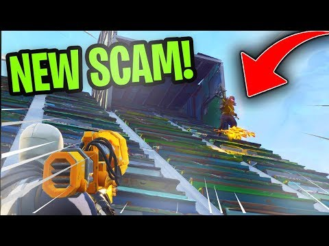 *NEW SCAM* The Gun Slide Scam! (Scammer Gets Scammed) Fortnite Save The World