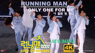 Running Man 런닝맨 - Only One For Me 너 없인 안 된다 Live In Jakarta 2019 (4K)