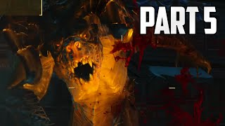 "Fallout 4 Walkthrough - Part 5 ""OH NO A DEATHCLAW"" (Let"