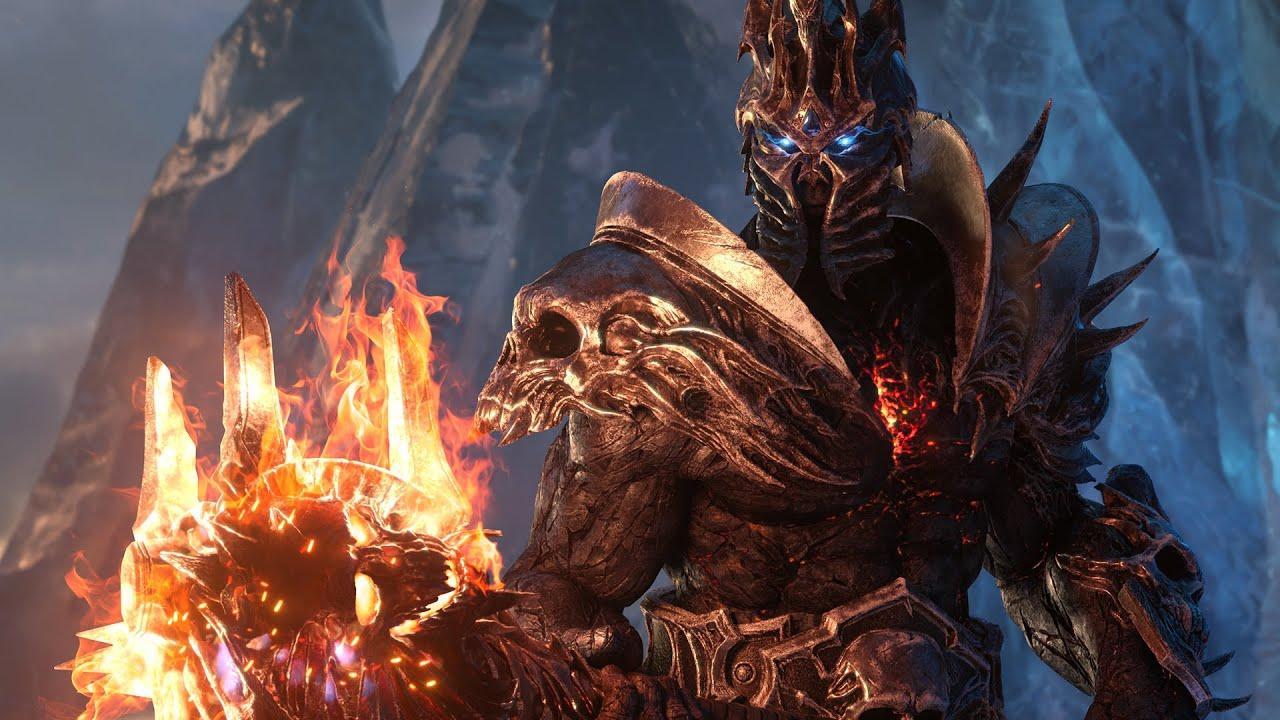 ролик World Of Warcraft Shadowlands