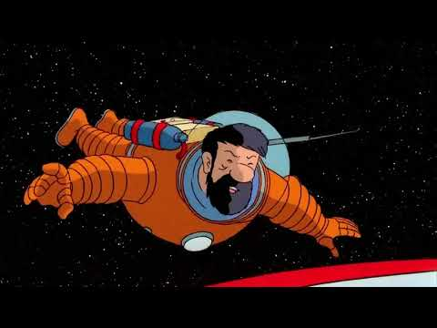Explorers On The Moon part 1| The Adventures Of Tintin
