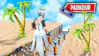 *PARKOUR PARQUE DE ATRACCIONES EN LA PLAYA* FORTNITE PARKOUR