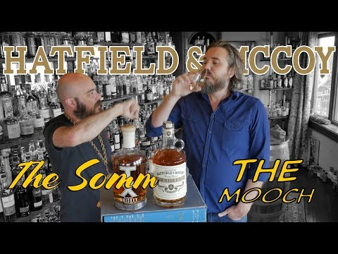 Whiskey Review - Legendary Hatfield and McCoy American Whiskey with TX blended Whiskey Comparison