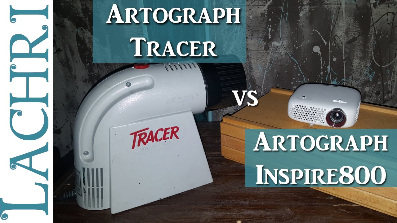 artograph tracer and inspire 800 projectors w lachri youtube