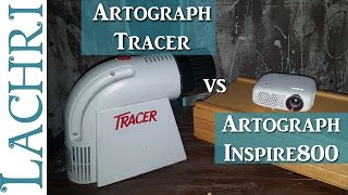 Artograph Tracer and Inspire 800 projectors   w/ Lachri