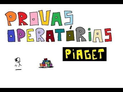 b1e9d6da821 Caixa de provas operatórias - Piaget - YouTube
