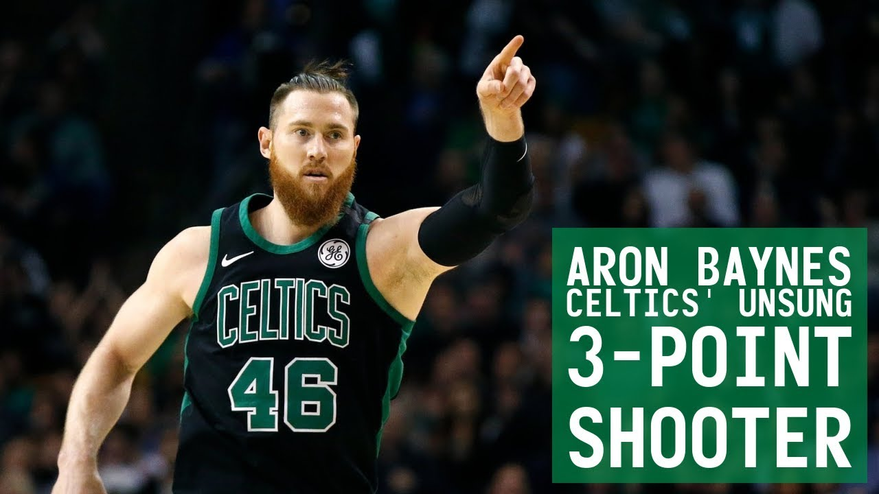 newest collection 2fe28 6c556 Aron Baynes: Celtics' Unsung 3-Point Shooter