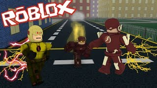 EPIC FLASH GAME?? ROBLOX DAWN OF HEROES!