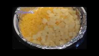 Овощи для салата на пару в мультиварке Philips HD3197