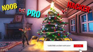 NOOB Vs Pro Vs Hacker - Fortnite Battle Royale FPC A GAMING .