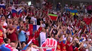 Россия - Финляндия 1- 0. Гол Широкова.