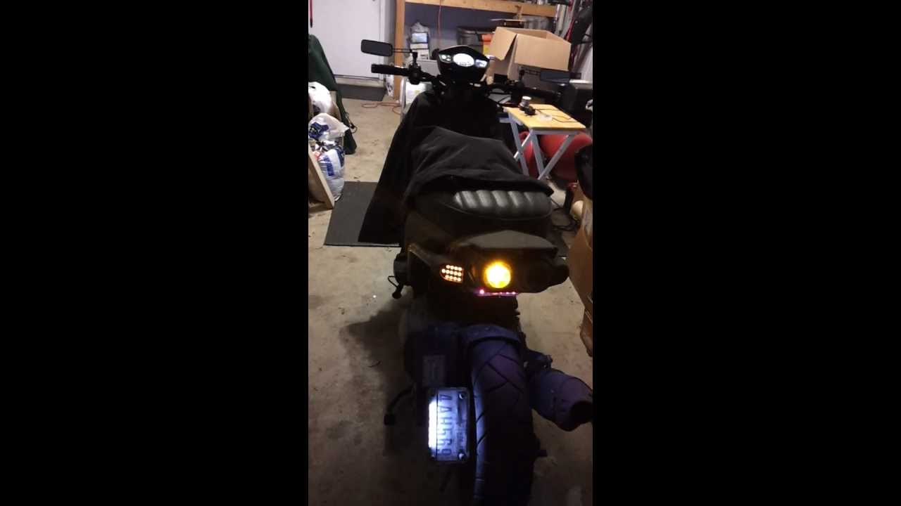 zumaforums net view topic how to fix all led turnsignal wiring diagram as well wiring besides yamaha zuma 125 tail lights in [ 1280 x 720 Pixel ]