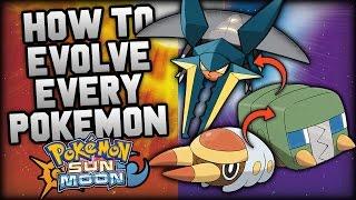 how to evolve every single new pokemon in pokemon sun and moon all new sun moon evolution methods