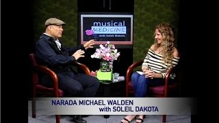 Musical Medicine with Soleil - Narada Michael Walden #1 Interview Marin TV