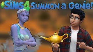 The Sims 4: Summon a Genie! (Mod Showcase)