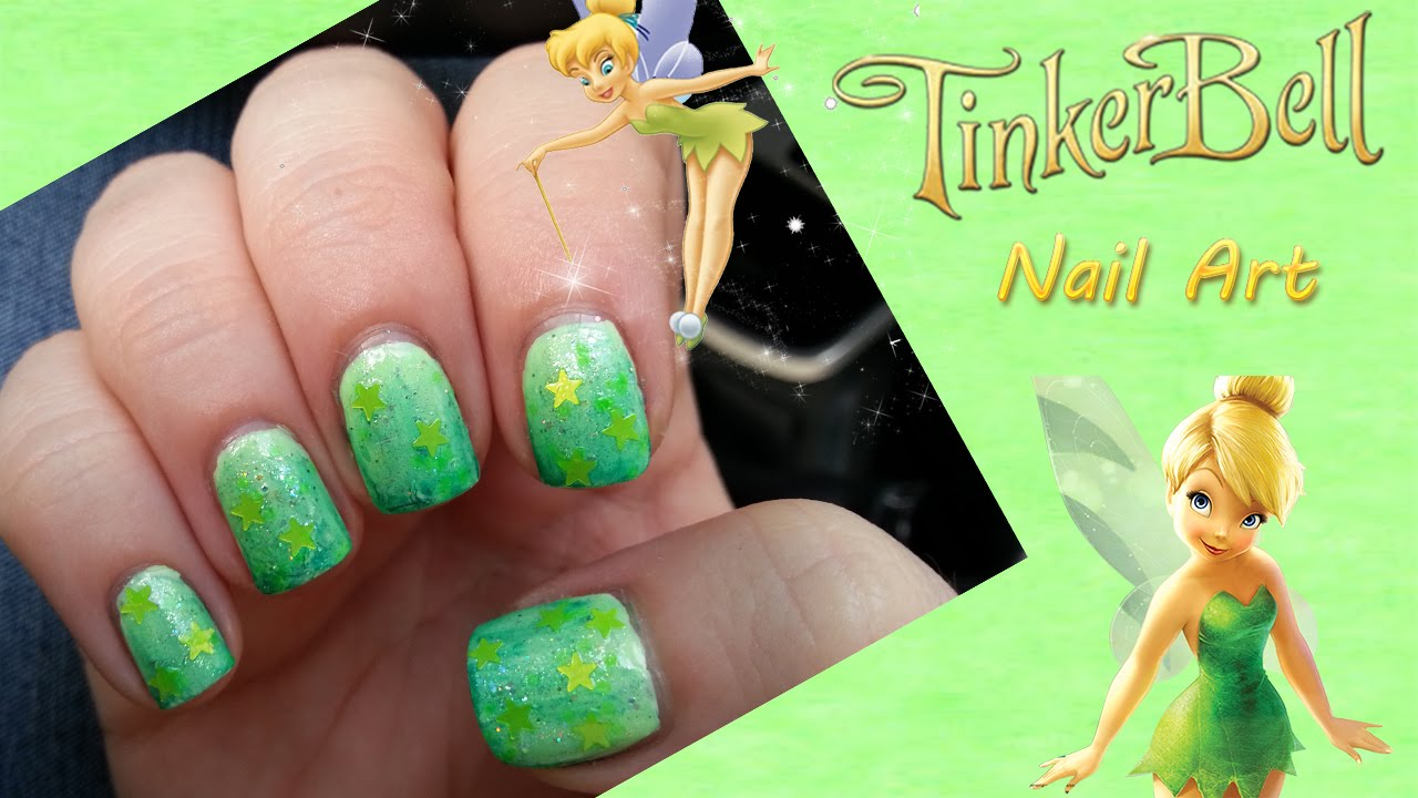 Tinkerbell nail art trilli youtube prinsesfo Gallery