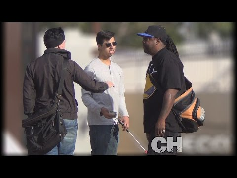 Stealing Money From A Blind Man (Social Experiment) What Would You Do?