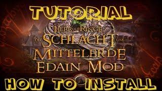 HOW TO INSTALL: Edain Mod - Der Herr der Ringe Schlacht um Mittelerde