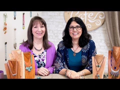 Artbeads Cafe - Wire & Pendant Sets with Cynthia Kimura and Cheri Carlson