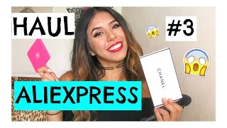 ALIEXPRESS HAUL #3 Brochas, chokers, accesorios | MelissaSPQ