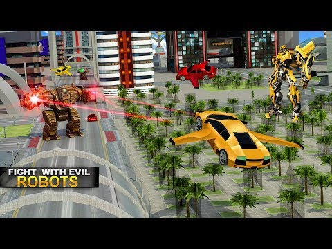 Real Robot Car Transformer War (By Evolution Game) Android Gameplay HD