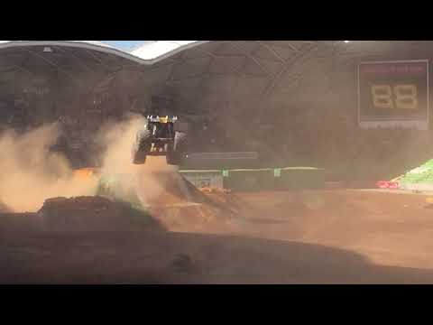 Monster Jam Melbourne 2017 2pm Freestyle Max D
