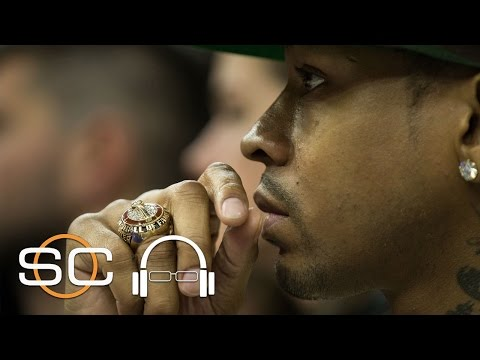 Lakers' Kobe Bryant Studied Sharks Before Facing 76ers' Allen Iverson | SC with SVP | April 19, 2017