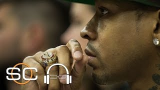 Scott Van Pelt dives into The Vault and breaks down Allen Iverson and Kobe Bryant's rivalry that lead Kobe to study sharks in preparation of facing AI. Watch ...