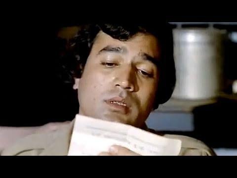 Download Drunk Rajesh Khanna & Raza Murad's shayari | Namak Haraam | Bollywood Scene