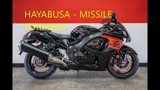 2018 Suzuki HAYABUSA MISSILE or TORPEDO Test Ride Review