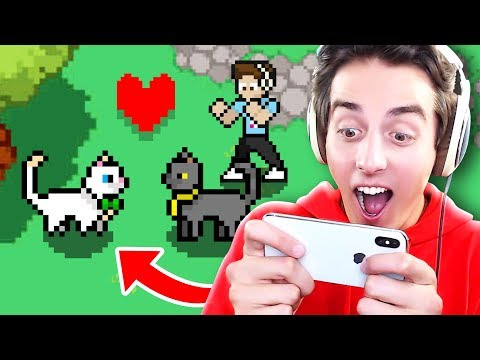 SECRET in the DENIS MOBILE GAME!! (Sir Meows a Lot's Girlfriend - Cats & Cosplay)