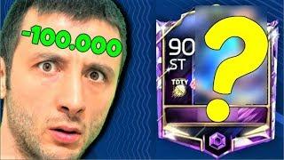 100.000 COİNS ZARARLA TOTY ? Fifa Mobile