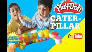 Play Doh Caterpillar DIY Play Doh for Kids Baby Learn Colors with Play Dough Children Fun