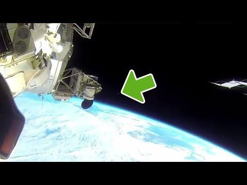 NASA kappt Livestream als UFO auf die ISS zu fliegt 😳
