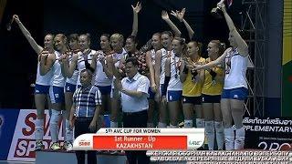 Женская сборная Казахстана по волейболу завоевала серебряные медали Кубка Азии-2016 во Вьетнаме