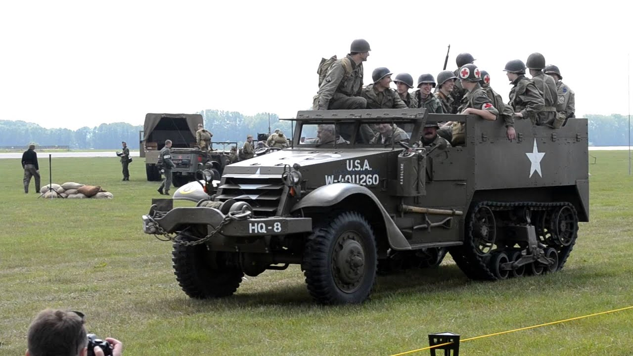 M8 Greyhound M3 Halftrack Jeep Willys Youtube