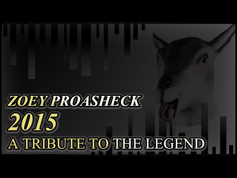 BEST BITS OF ZOEY PROASHECK 2015 - All of the months all of them