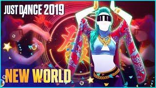 Just Dance 2019 - New World de Krewella, Yellow Claw Ft. Vava