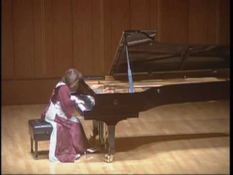 "Hideyo Harada plays Mendelssohn ""Song without Words"" Op. 38 No. 6 - ""Duetto"""