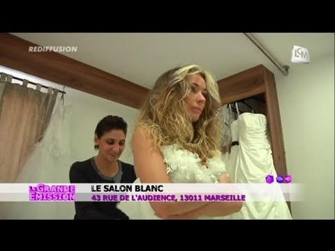 le salon blanc une nouvelle boutique de mariage marseille youtube. Black Bedroom Furniture Sets. Home Design Ideas