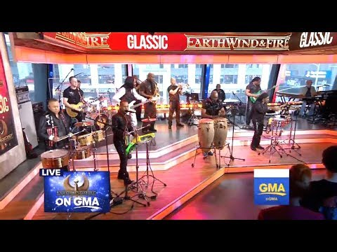 Earth Wind & Fire - Medley - GMA (LIVE)