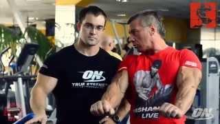 Александр Яшанькин - Тренировка грудных мышц (Часть 1)