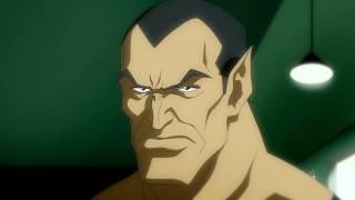Shazam and Superman team up to fight Black Adam