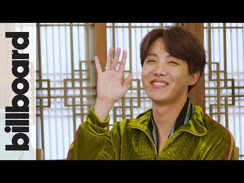 "BTS Talks Favorite Tour Stops (& J-Hope Sings ""Despacito"")!   Billboard"