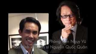 Phóng viên Ngụy Vũ tâm tình với Ts. Nguyễn Quốc Quân