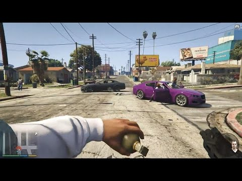 GTA 5 First Person Gameplay - PS4, Xbox One, PC (GTA V First Person Gameplay)
