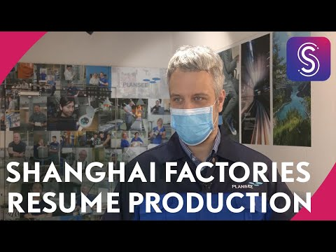 Shanghai factories picking up production