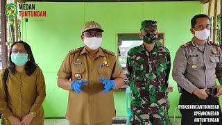 Sosialisasi Protokol Kesehatan Terhadap Imigran di Wilayah Kecamatan Medan Tuntungan (23/06)